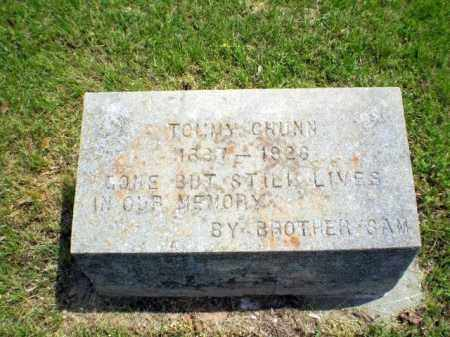 CHUNN, TOMMY - Greene County, Arkansas | TOMMY CHUNN - Arkansas Gravestone Photos