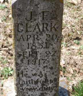 CLARK, J. F. - Greene County, Arkansas | J. F. CLARK - Arkansas Gravestone Photos