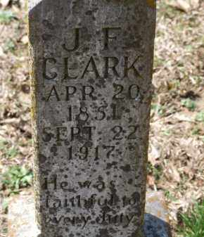 CLARK, J. F. - Greene County, Arkansas | J. F. CLARK - Arkansas Gravestone Photos