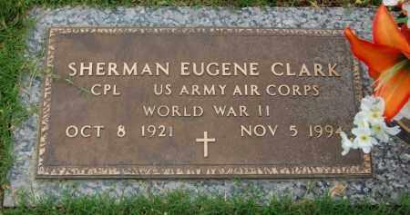 CLARK (VETERAN WWII), EUGENE CLARK - Greene County, Arkansas | EUGENE CLARK CLARK (VETERAN WWII) - Arkansas Gravestone Photos