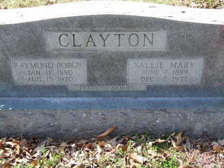 CLAYTON, SALLIE MARY - Greene County, Arkansas | SALLIE MARY CLAYTON - Arkansas Gravestone Photos