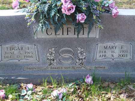 CLIFFT, EDGAR I. - Greene County, Arkansas   EDGAR I. CLIFFT - Arkansas Gravestone Photos