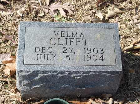 CLIFFT, VELMA - Greene County, Arkansas   VELMA CLIFFT - Arkansas Gravestone Photos