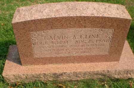 CLINE, GALVIN A - Greene County, Arkansas | GALVIN A CLINE - Arkansas Gravestone Photos