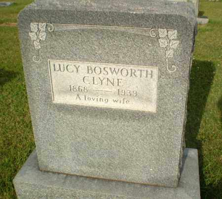 BOSWORTH CLYNE, LUCY - Greene County, Arkansas | LUCY BOSWORTH CLYNE - Arkansas Gravestone Photos