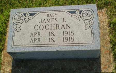 COCHRAN, JAMES T (INFANT) - Greene County, Arkansas | JAMES T (INFANT) COCHRAN - Arkansas Gravestone Photos