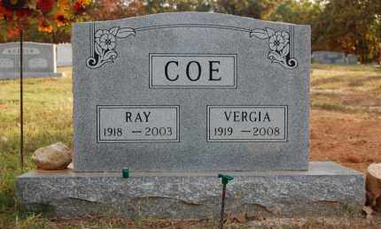 COE, VERGIA - Greene County, Arkansas | VERGIA COE - Arkansas Gravestone Photos