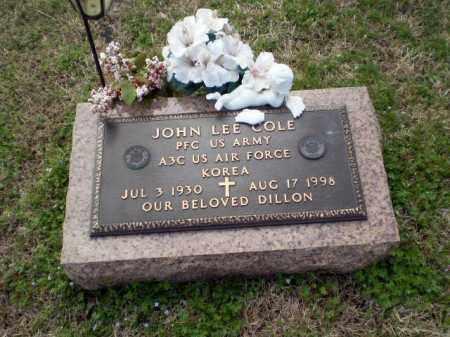 COLE  (VETERAN KOR), JOHN LEE - Greene County, Arkansas   JOHN LEE COLE  (VETERAN KOR) - Arkansas Gravestone Photos