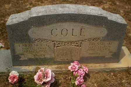 COLE, LAWRENCE G - Greene County, Arkansas | LAWRENCE G COLE - Arkansas Gravestone Photos