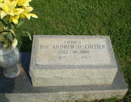 COLLIER, REV, ANDREW O - Greene County, Arkansas | ANDREW O COLLIER, REV - Arkansas Gravestone Photos