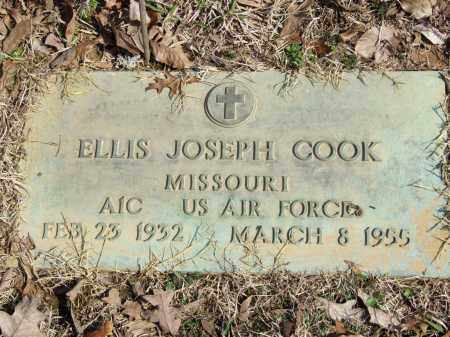 COOK (VETERAN), ELLIS JOSEPH - Greene County, Arkansas | ELLIS JOSEPH COOK (VETERAN) - Arkansas Gravestone Photos