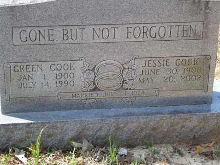 COOK, GREEN - Greene County, Arkansas   GREEN COOK - Arkansas Gravestone Photos