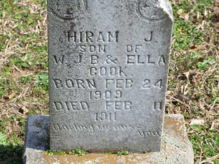 COOK, HIRAM J. - Greene County, Arkansas   HIRAM J. COOK - Arkansas Gravestone Photos
