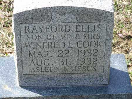COOK, RAYFORD ELLIS - Greene County, Arkansas | RAYFORD ELLIS COOK - Arkansas Gravestone Photos