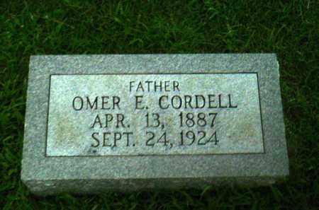 CORDELL, OMER E - Greene County, Arkansas | OMER E CORDELL - Arkansas Gravestone Photos