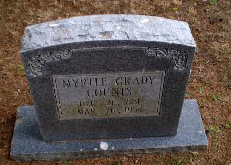 GRADY COUNTS, MYRTLE - Greene County, Arkansas | MYRTLE GRADY COUNTS - Arkansas Gravestone Photos