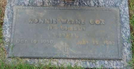 COX (VETERAN VIET), RONNIE WAYNE - Greene County, Arkansas | RONNIE WAYNE COX (VETERAN VIET) - Arkansas Gravestone Photos