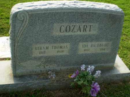 COZART, IDA - Greene County, Arkansas   IDA COZART - Arkansas Gravestone Photos