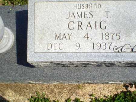 CRAIG, JAMES T - Greene County, Arkansas   JAMES T CRAIG - Arkansas Gravestone Photos