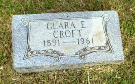 CROFT, CLARA E - Greene County, Arkansas | CLARA E CROFT - Arkansas Gravestone Photos