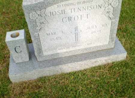 CROFT, JOSIE - Greene County, Arkansas | JOSIE CROFT - Arkansas Gravestone Photos
