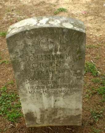 CROSE  (VETERAN), JOHNIE H - Greene County, Arkansas | JOHNIE H CROSE  (VETERAN) - Arkansas Gravestone Photos