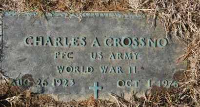 CROSSNO (VETERAN), CHARLES A - Greene County, Arkansas | CHARLES A CROSSNO (VETERAN) - Arkansas Gravestone Photos