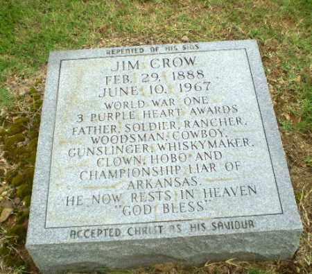"CROW  (VETERAN WWI), JAMES SHELTON ""JIM"" - Greene County, Arkansas | JAMES SHELTON ""JIM"" CROW  (VETERAN WWI) - Arkansas Gravestone Photos"