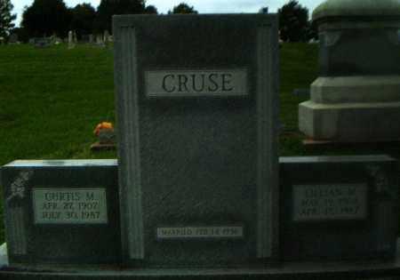 CRUSE, CURTIS M - Greene County, Arkansas | CURTIS M CRUSE - Arkansas Gravestone Photos