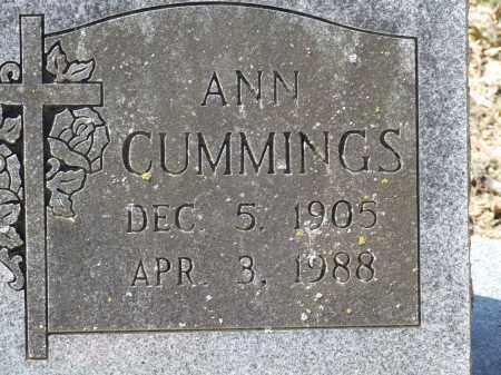 CUMMINGS, ANN - Greene County, Arkansas   ANN CUMMINGS - Arkansas Gravestone Photos