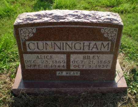 CUNNINGHAM, ALICE - Greene County, Arkansas | ALICE CUNNINGHAM - Arkansas Gravestone Photos