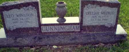 CUNNINGHAM, LEO - Greene County, Arkansas   LEO CUNNINGHAM - Arkansas Gravestone Photos