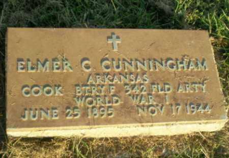CUNNINGHAM (VETERAN WWI), ELMER C - Greene County, Arkansas | ELMER C CUNNINGHAM (VETERAN WWI) - Arkansas Gravestone Photos