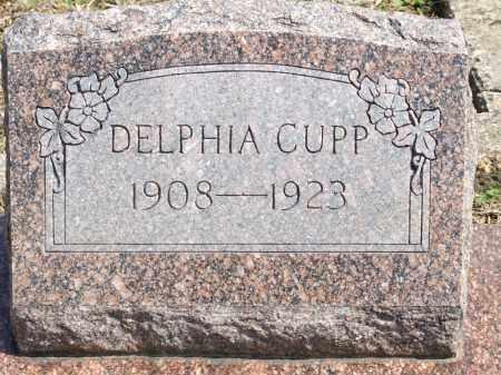 CUPP, DELPHIA - Greene County, Arkansas | DELPHIA CUPP - Arkansas Gravestone Photos