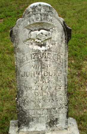 CUPP, ELIZABETH - Greene County, Arkansas   ELIZABETH CUPP - Arkansas Gravestone Photos