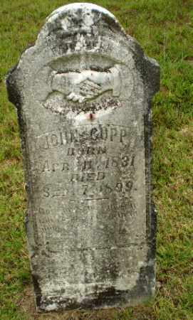 CUPP, JOHN - Greene County, Arkansas | JOHN CUPP - Arkansas Gravestone Photos