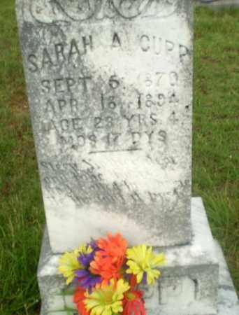 CUPP, SARAH A - Greene County, Arkansas   SARAH A CUPP - Arkansas Gravestone Photos