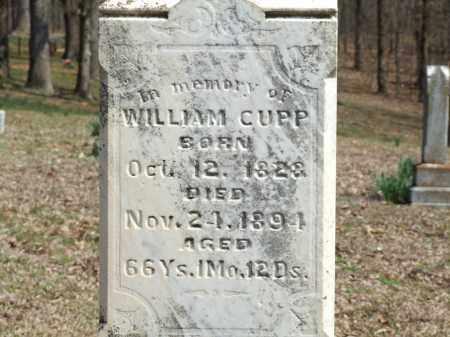 CUPP, WILLIAM - Greene County, Arkansas   WILLIAM CUPP - Arkansas Gravestone Photos