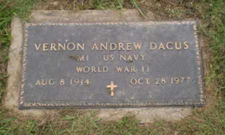 DACUS  (VETERAN WWII), VERNON ANDREW - Greene County, Arkansas | VERNON ANDREW DACUS  (VETERAN WWII) - Arkansas Gravestone Photos