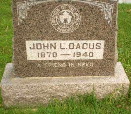 DACUS, JOHN L - Greene County, Arkansas | JOHN L DACUS - Arkansas Gravestone Photos