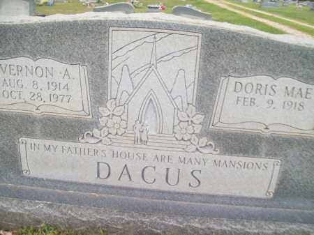 DACUS, DORIS MAE - Greene County, Arkansas | DORIS MAE DACUS - Arkansas Gravestone Photos