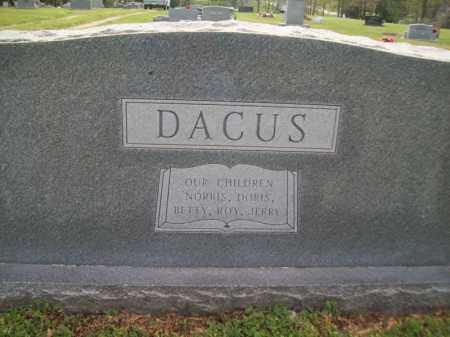 DACUS, DORIS MAE - Greene County, Arkansas | DORIS MAE DACUS - Arkansas Gravestone Photos