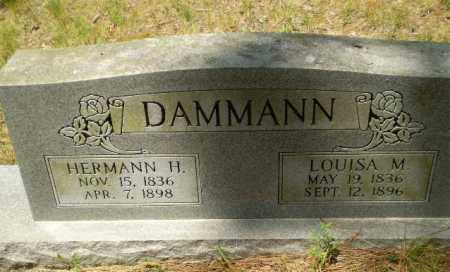 DAMMANN, HERMANN H - Greene County, Arkansas | HERMANN H DAMMANN - Arkansas Gravestone Photos