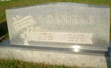 "DANIELS, T.N. ""TOBE"" - Greene County, Arkansas | T.N. ""TOBE"" DANIELS - Arkansas Gravestone Photos"