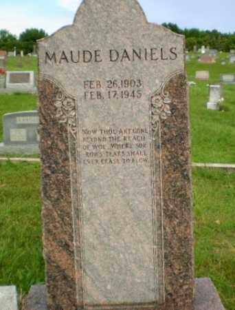 DANIELS, MAUDE - Greene County, Arkansas | MAUDE DANIELS - Arkansas Gravestone Photos