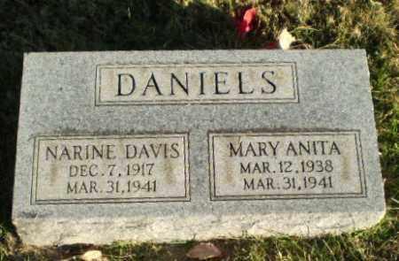 DANIELS, NARINE - Greene County, Arkansas | NARINE DANIELS - Arkansas Gravestone Photos