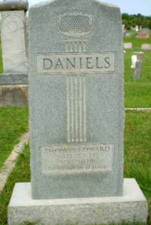 DANIELS, THOMAS EDWARD - Greene County, Arkansas | THOMAS EDWARD DANIELS - Arkansas Gravestone Photos