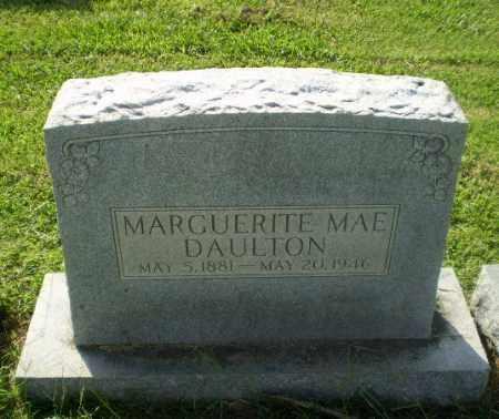 DAULTON, MARGUERITE MAE - Greene County, Arkansas | MARGUERITE MAE DAULTON - Arkansas Gravestone Photos