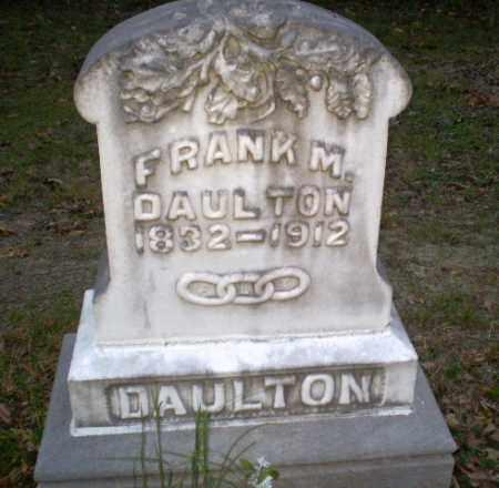 DAULTON (VETERAN CSA), FRANK M - Greene County, Arkansas   FRANK M DAULTON (VETERAN CSA) - Arkansas Gravestone Photos