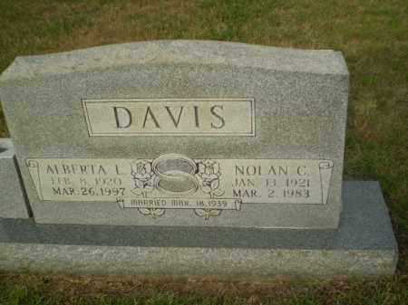 DAVIS, NOLAN C - Greene County, Arkansas | NOLAN C DAVIS - Arkansas Gravestone Photos